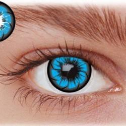 Blå kontaktlinser OE2BL
