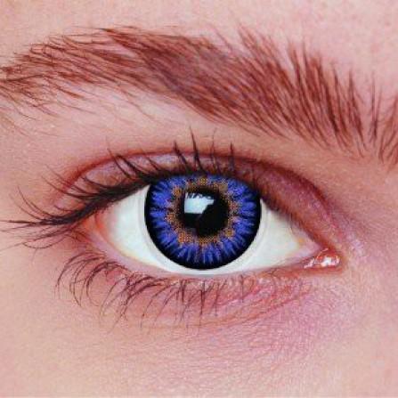 Blå kontaktlinser 3AQ
