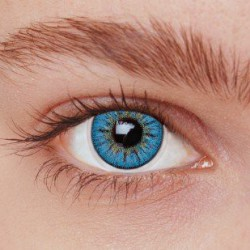 Blå kontaktlinser PS3BL