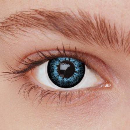 Blå kontaktlinser 2BL