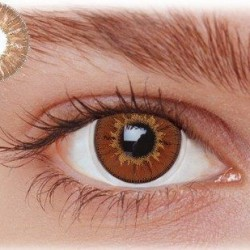 Brune kontaktlinser 3HA