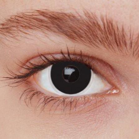 Crazy kontaktlinser BLACK OUT