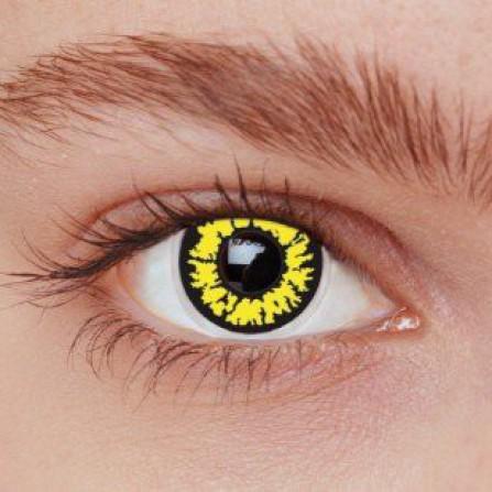 Crazy kontaktlinser BLACK WOLF