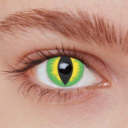 Crazy kontaktlinser DEVIL GREEN