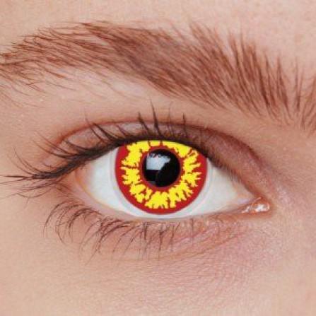 Crazy kontaktlinser RED WOLF