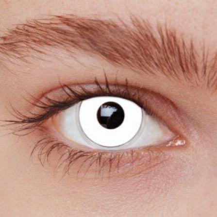 Crazy kontaktlinser WHITE OUT