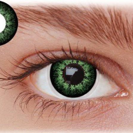 Grønne kontaktlinser PX2GN