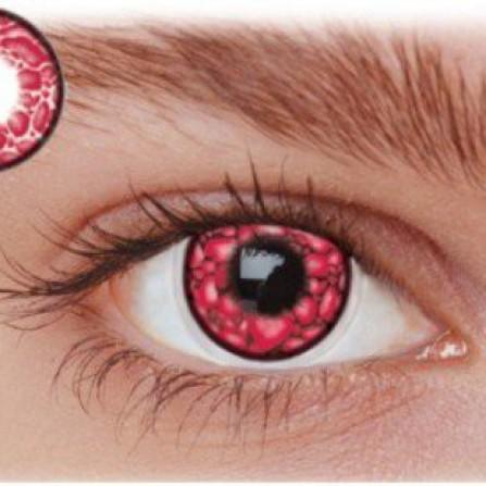 Røde kontaktlinser LD2WI