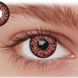 Røde kontaktlinser LF2WI
