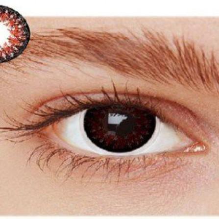 Røde kontaktlinser OB2RE