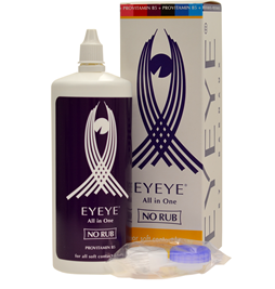 Image of   Multifunktionel kontaktlinsevæske med provitamin B5 & Etui