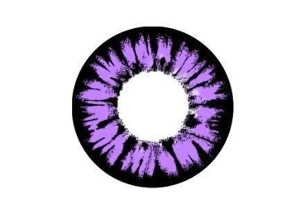 09a6d8ed6b4b Pink   Violette kontaktlinser uden styrke