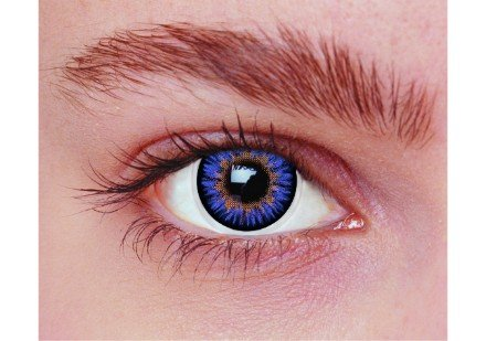 Image of   Blå kontaktlinser PA3AQ