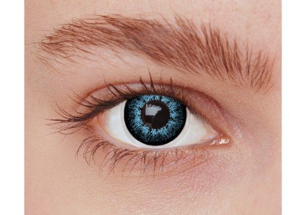 Image of   Blå kontaktlinser PX2BL