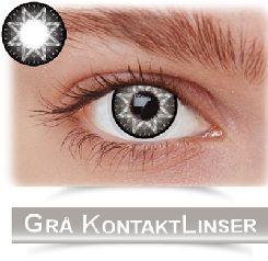 Grå kontaktlinser