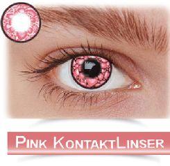 Pink & Violette kontaktlinser